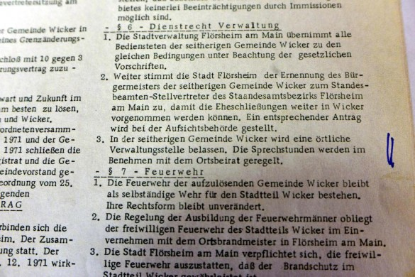 Norbert Hegmann Wicker  Vertrag 19.09.1991